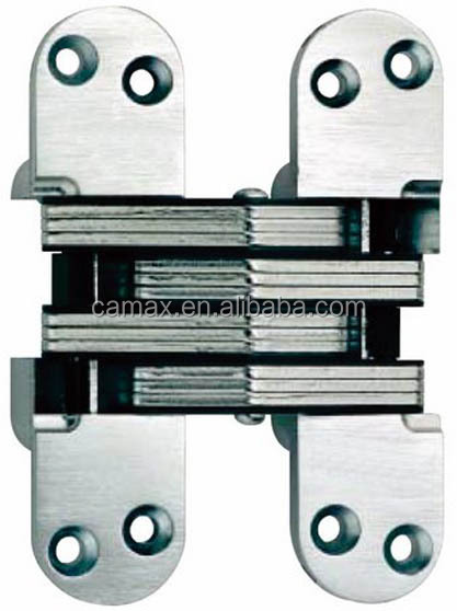 CHS003 Casting Stainless steel Invisible concealed Hinge180 degree hinge door hinge invisibleinvisible hinge