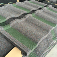 Soncap Certificate Colorful Fashion Roofing Material Stone Coated Metal Roofing Tiles