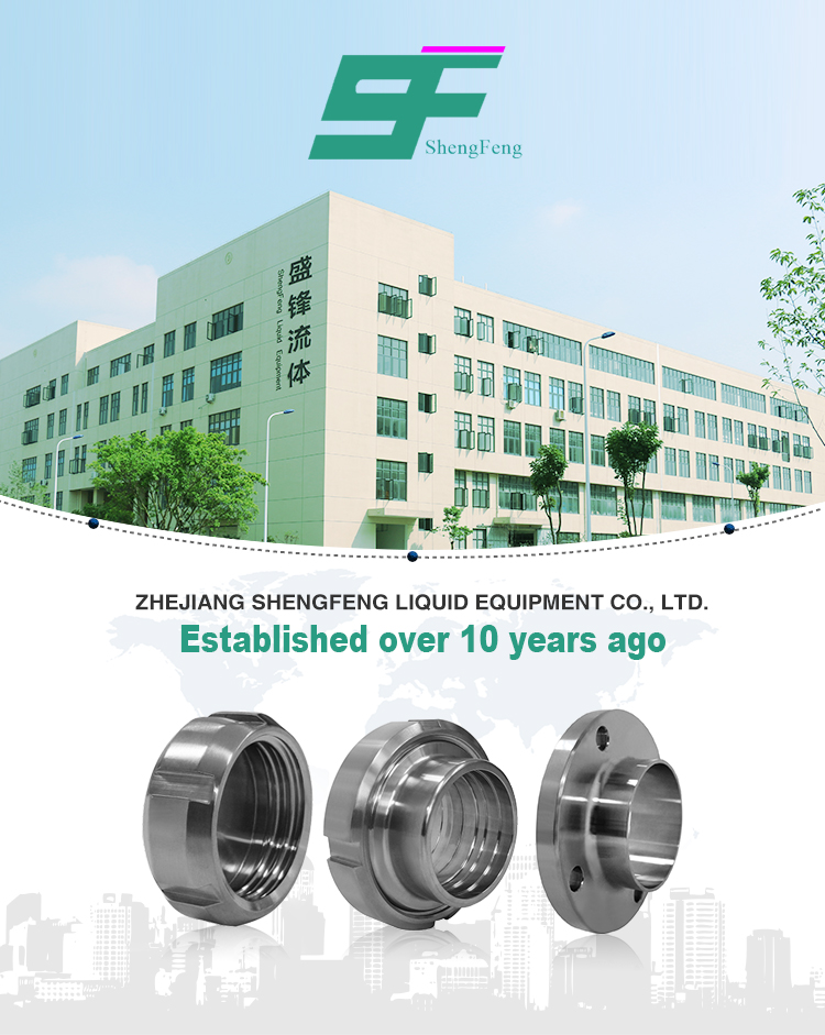 Exquisite workmanship stainless steel sanitary round shape eccentric pipe fitting