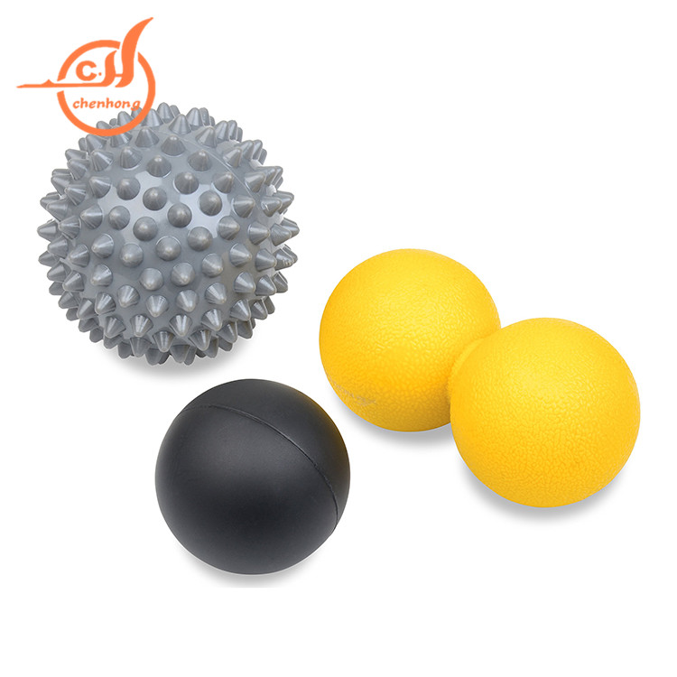 Cost price fitness equipment eco-friendly lacrosse massage <strong>ball</strong>