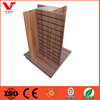 4 sides slatwall display gondola / store fixtures for clothes store