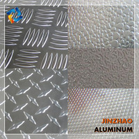 3003 3004 3005 aluminum checkered sheet for deck board trailer