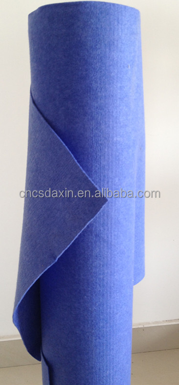 mixed blue nonwoven fabric
