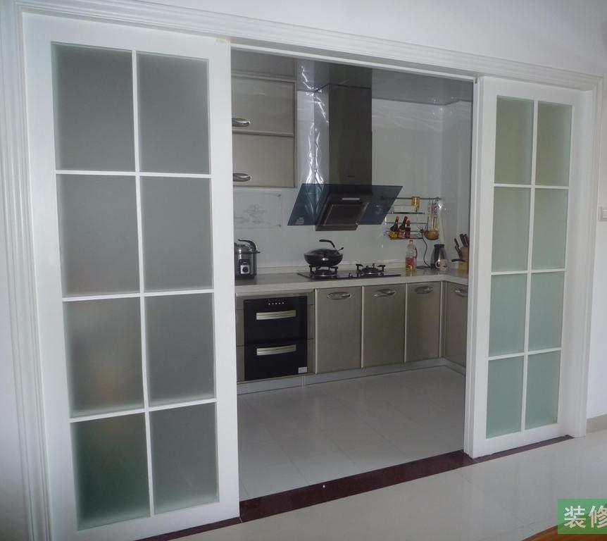 Double Glazing Kitchen Pantry Doors