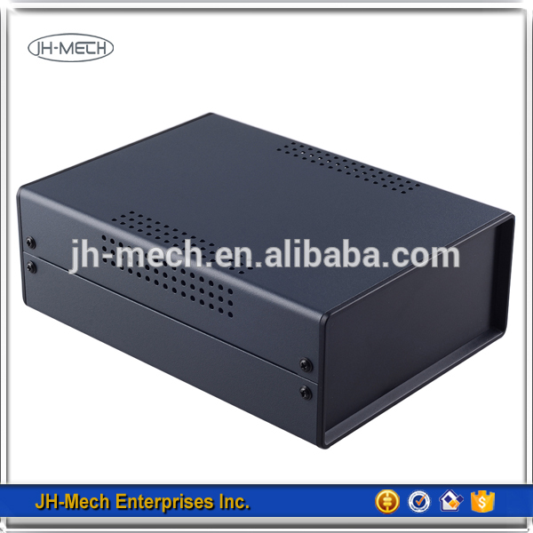 Professional aluminum electronic project enclosure