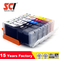 Compatible ink cartridge for PGI-550 PGI-550XL with chip PIXMA MX925 MG5450 MG6350 IP7250