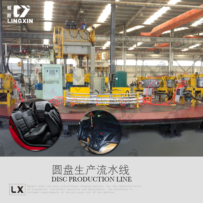 PU Car Seat Production Line /Car Seat Pouring Machine