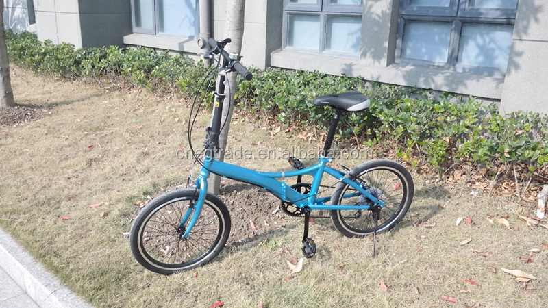 2016 new model 20 inch wheel 7 speeds folding bike/bicycle /pocket bike for sale