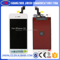 Original Mobile Phone Parts LCD For iPhone 5S 5 5C LCD Display + Touch Screen Digitizer + Free Tools White Black Replacement