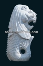 outdoor granite stone statue animal sculpture