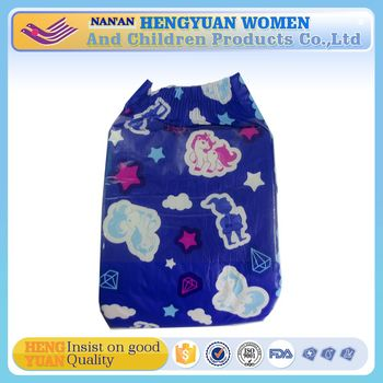 Wholesale disposable baby Print Adult Diaper direct by China Manufacturer