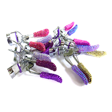 Wholesale private label gems handle eyelash curler