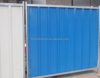 Closed Combi City Fence Mobile Colour-Bond City Fence