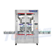 Low energy consumption hotsell aerated drink rotary filling machine