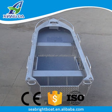 2017 luxurious cheap CE certification v bottom aluminum boats
