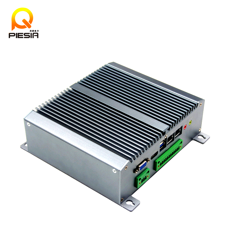 6 lan 8 lan Fanless barebone mini embedded pc