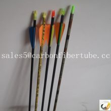 ccarbon fiber arrow, hunting feather arrow,bow and arrow