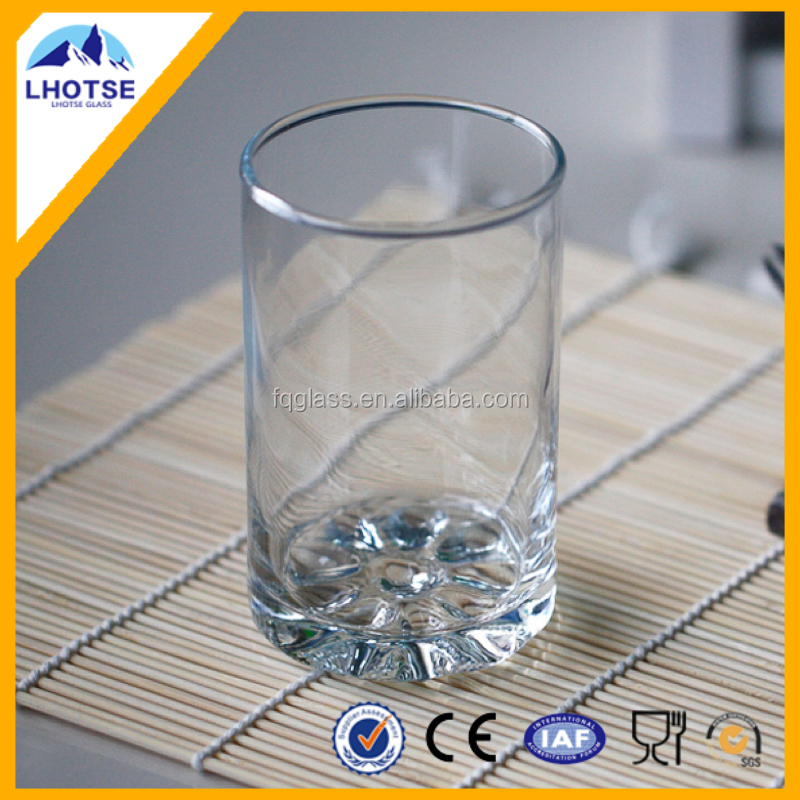 150ml Wholesale Decorative Glass Water <strong>Cup</strong> From Faqiang Glass Factory