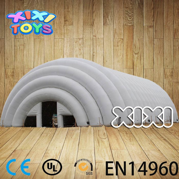 Great Inflatable Arch Tent, Giant Industrial Inflatable Tent Warehouse