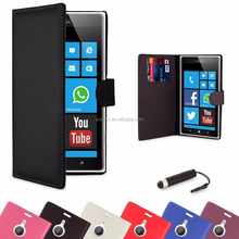 Wallet PU Leather Case Cover For Nokia Lumia Various Phone