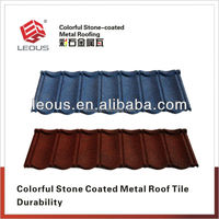 Colorful Stone Coated Metal Roof Tile| Steel Roof Tile| Roofing Tile