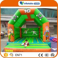 Best seller inflatable combo used commercial inflatable bouncer for sale