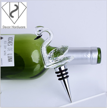 Custom Crystal Animal Shape Wine Bottle Stopper For Home Decoration