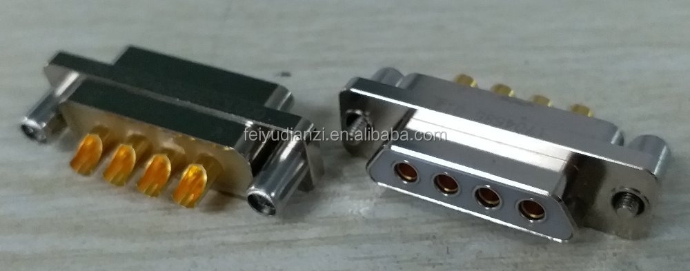 J30J low-high current mixed series electrical connector