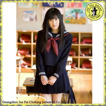 Autumn Long Sleeves High School Band Uniform For Girl