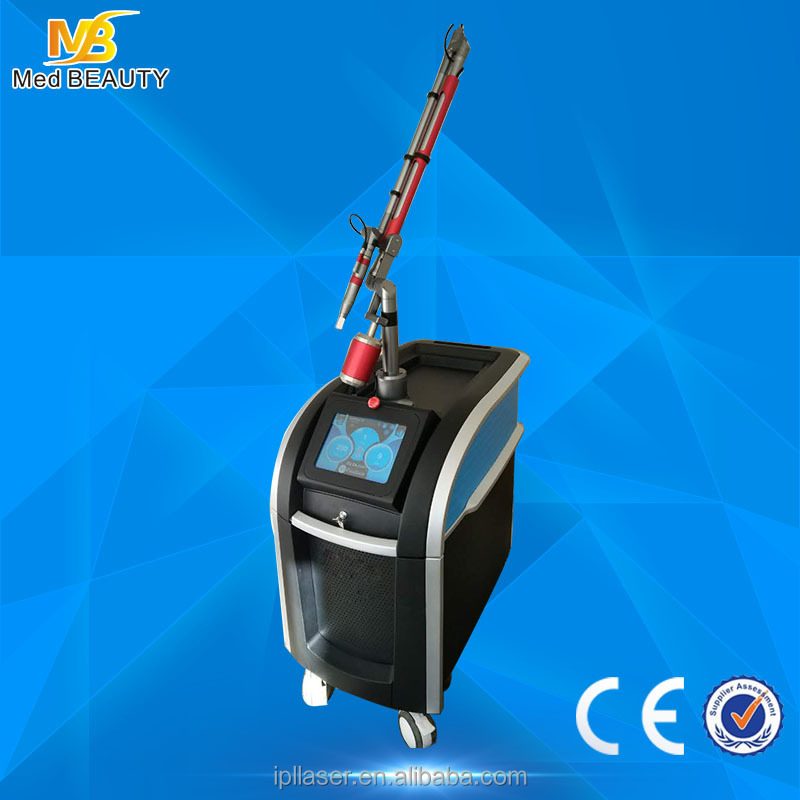 picosecond laser machine Newest technology tattoo pigment removal device
