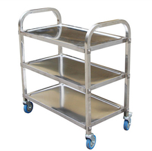 Custom Stainless Steel Mental Industrial Instrument Push Kitchen Trolley Cart