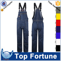 100% cotton coverall,worker's suspenders,cleaner workwear
