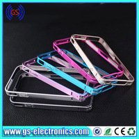 For iphone 4/4S 5/5S 0.7mm ultra-thin metal bumpers with side button