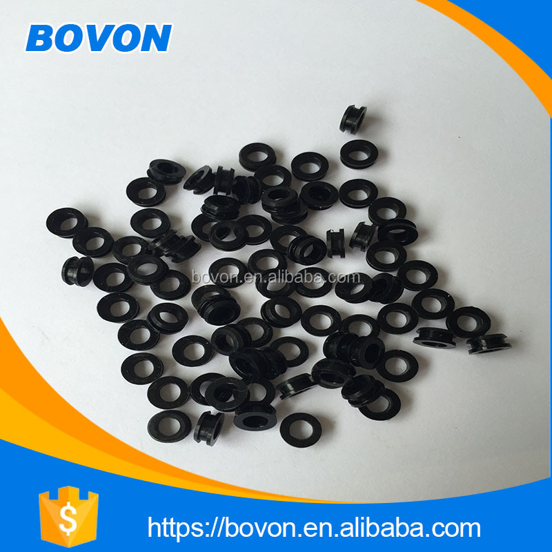 OEM small adhesive sticker molded rubber parts for sale