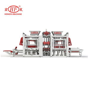 Large capacity concrete blocks making machine, Hongfa big brand HFB5200A automatic block making machine price