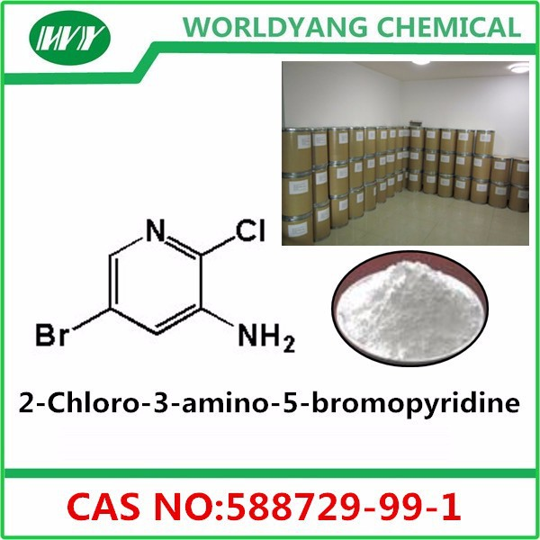High purity 2-Chloro-3-amino-5-bromopyridine cas 588729-99-1