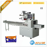 High speed instant noodles automatic horizontal packing machine