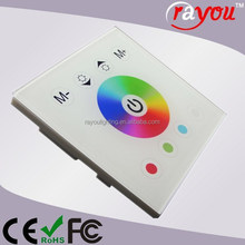 wireless rgb led controller,led touch controller, rgbw led touching controller for panel light