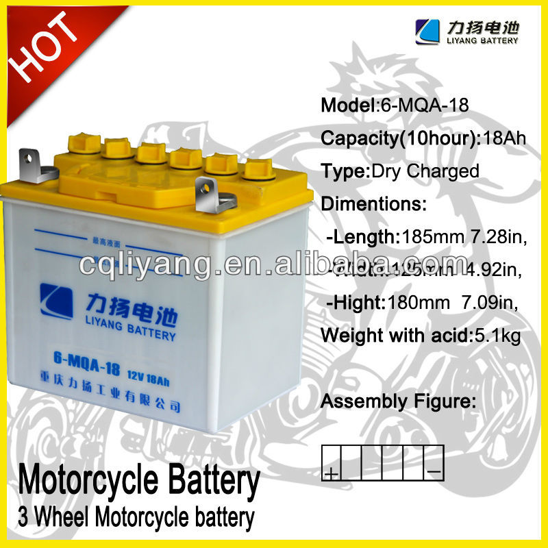 bajaj three wheeler battery price