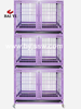 Wheel Plastic Dog Kennel And Kennel Dog Tube Dog Cage (Direct Sale Factory, Alibaba Golden Supplier)