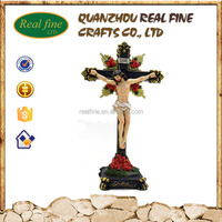 Polyresin 3D Jesus Cross For Home Decoration