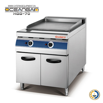 HGG-70 gas griddle with cabinet