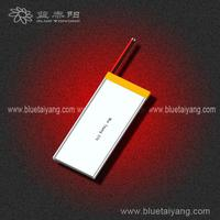 Hot selling 3-cell lithium polymer 3.7V 902865 1600mAh