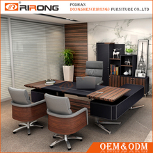 Hot selling wooden contemporary director managing manager executive tables