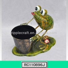 Newly Frog Garden Decor Pot for Flowers
