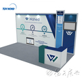 Detian Offer booth aluminum trade show booth exhibition booth design custom trade show booth