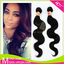Tight weft real Brazilian bonny hair weave body wave