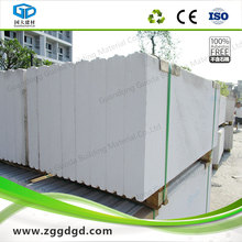 Aerated precast foam cement wall panel economy cost for houses
