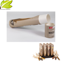 customized high grade disposable carft food packaging cardboard tubes for packaging
