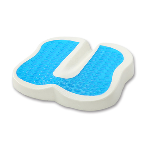Gel Material And Pressure Absorption Anti-Slip Silicone Gel Heel Cushion Pad Memory Foam Seat Cushion Coccyx